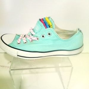Converse All Star Multi Tongue OX Sneakers Green